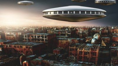 WATCH: Possible Fleet of UFO's spotted in California