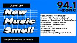 New Music Smell Jan. 2021