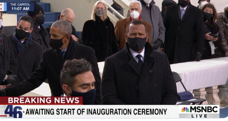 A-Rod was at The Inauguration and Looked Like a Secret Service Agent