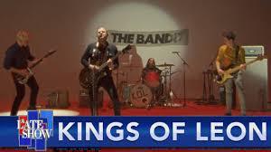 Kings Of Leon Do Colbert