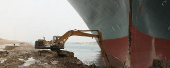 Stuck in the Suez Canal
