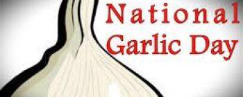 Happy National Garlic Day!