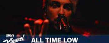 All Time Low Does Kimmel!
