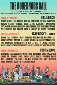 Governor's Ball Is This Weekend!